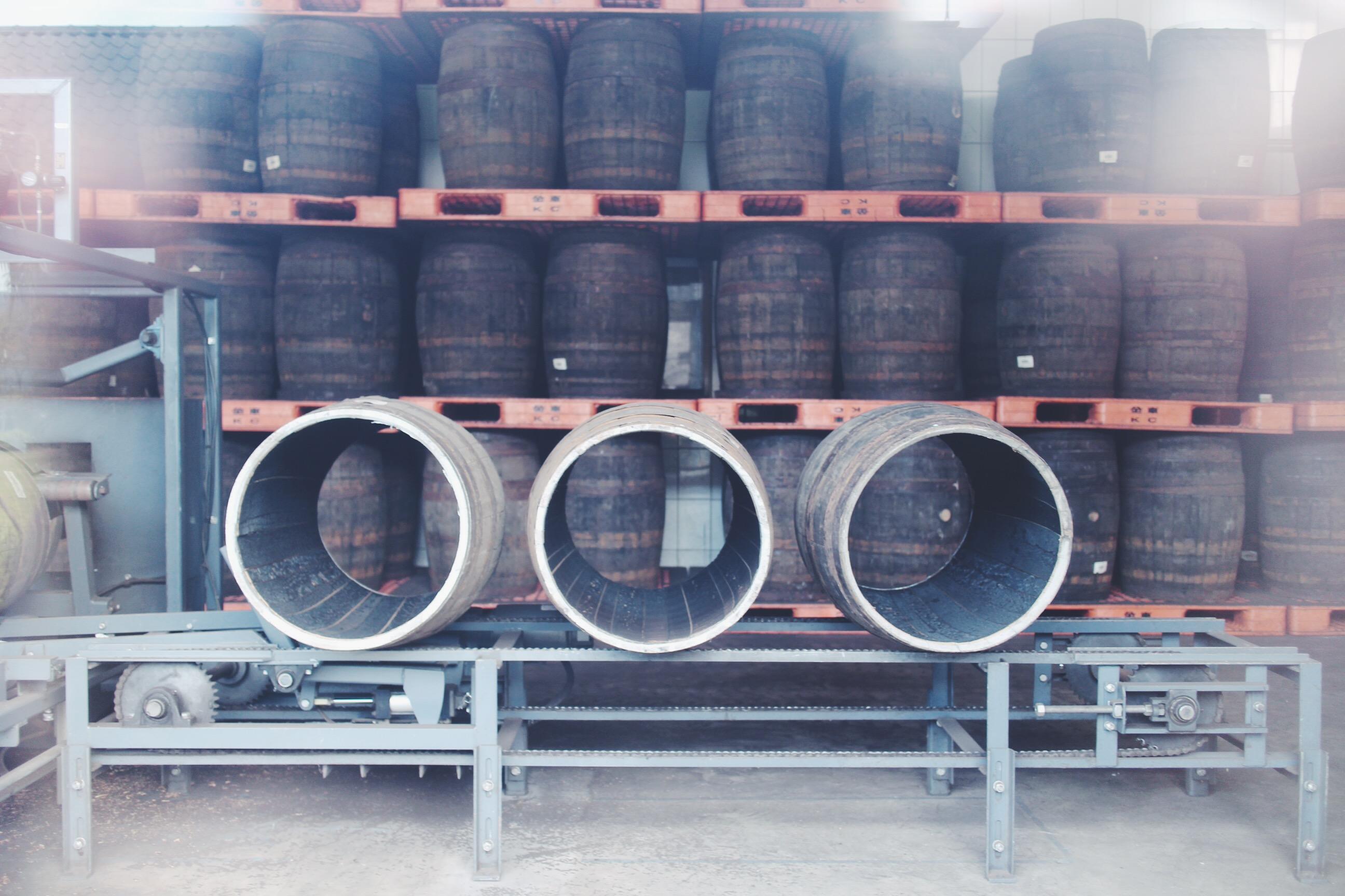 Sherry cask, Kavalan Whisky, Taipei, Yilan, Taiwan