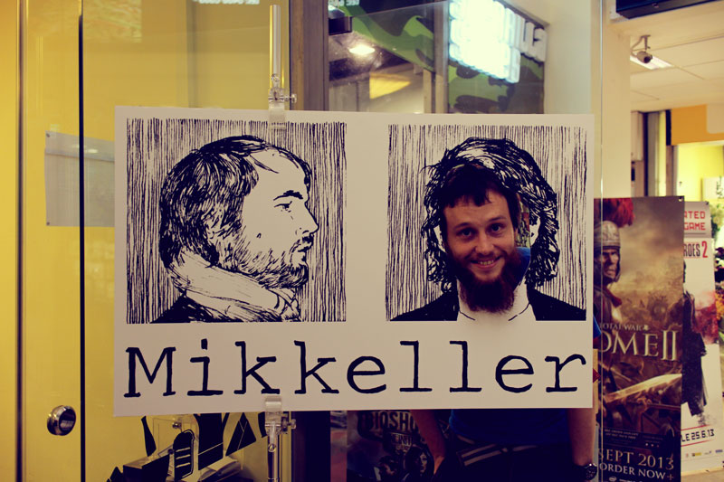Nick in the Mikkeller thing.